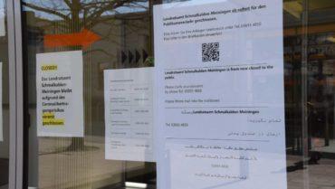 +++Jobcenter für Publikumsverkehr ab sofort geschlossen+++